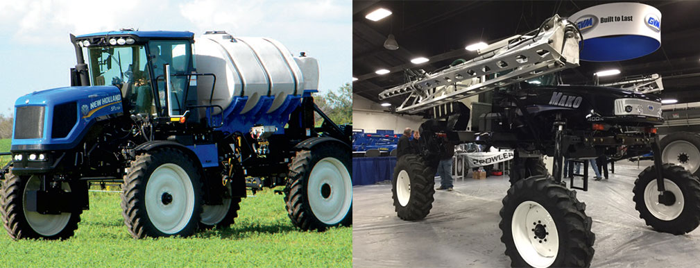 Sprayer collage